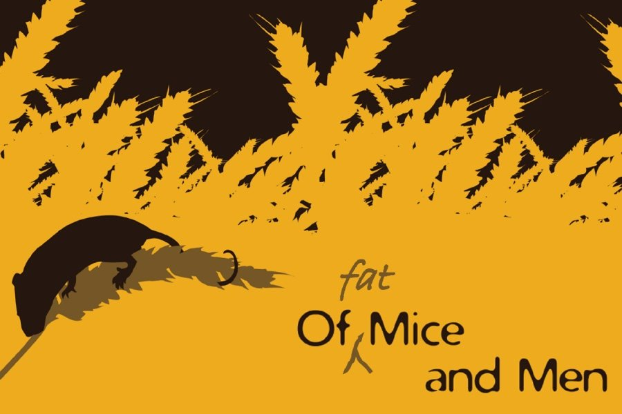Mouse in the wheat -