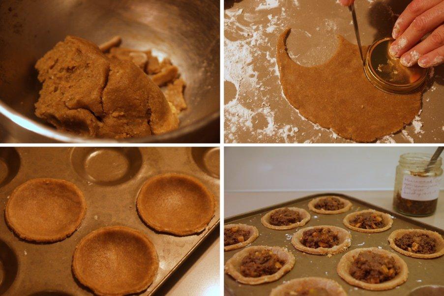 Mince pie pastry 1