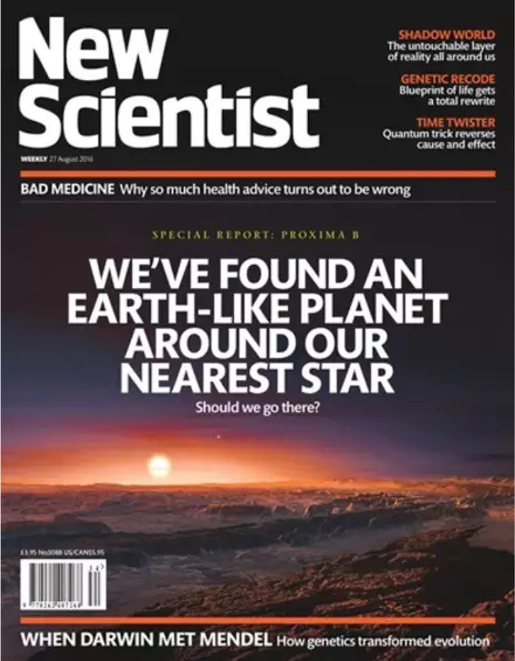New Scientist Aug 2016