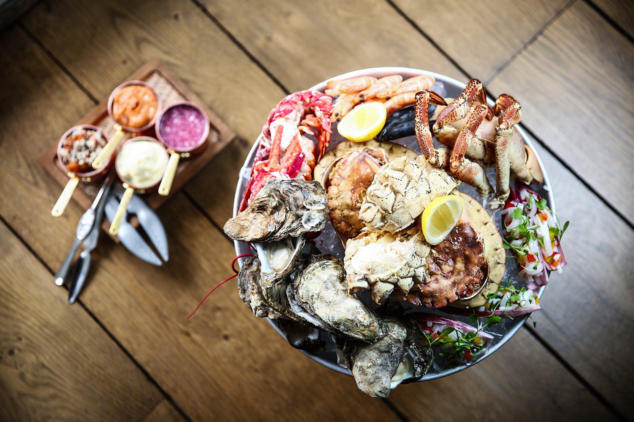 Seafood Sharing Platter (Source: Hotel du Vin)