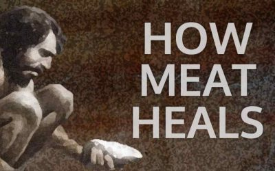 Title image - How Meat Heals with caveman