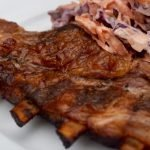 Pork Spare Ribs with Coleslaw Featured Image