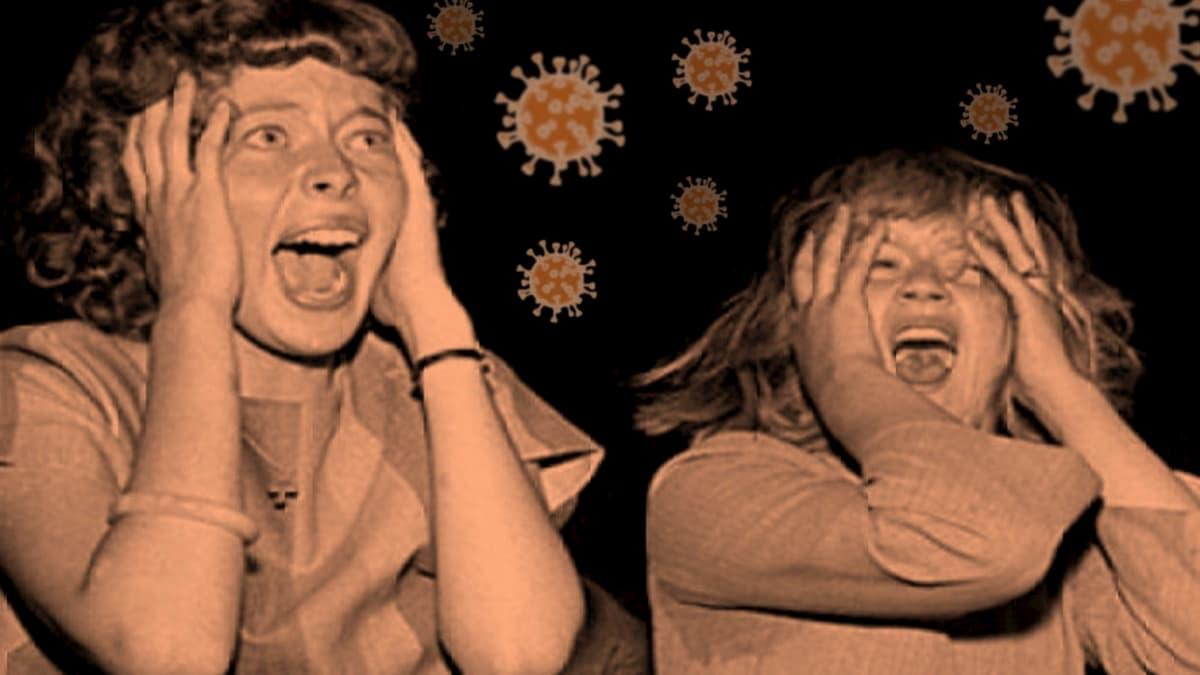 media induced hysteria over Corona virus